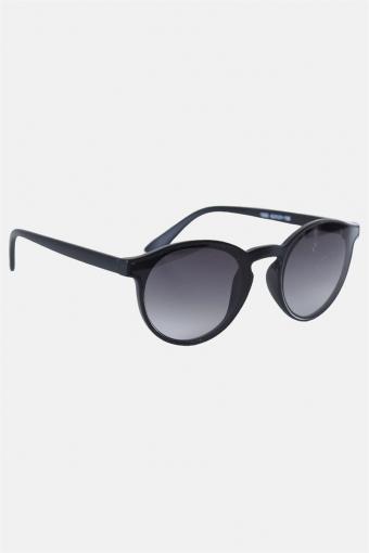 Fashion 1385 Mat Black Solgasögon Grey Gradient