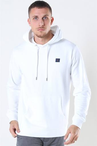 Clean Cut Basic Organic Hoodie White