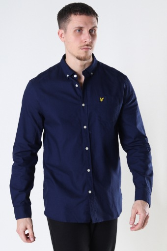 Regular Fit Light Weight Oxford Shirt Navy