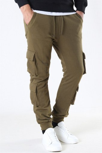 Klockaban Classics Double Pocket Terry Sweat Pants Summerolive