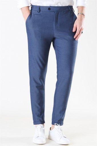Como HerRingabone Suit Pants Dark Navy
