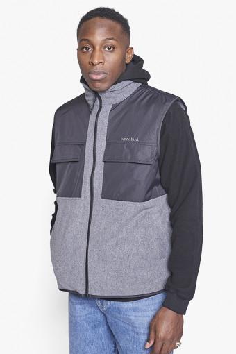 Strukt Fleece Vest Dark Grey