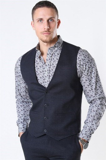 Coolidge Vest Mini Check