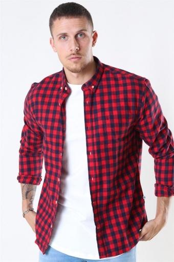 Johan Check Gr. 18 Skjorta Red