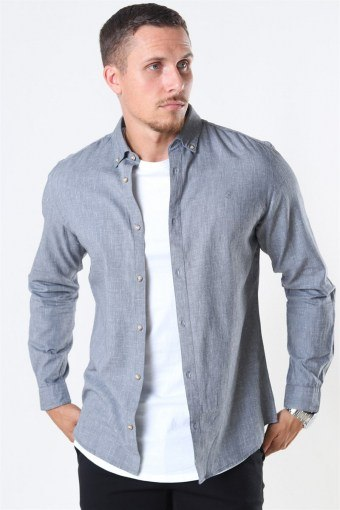 Blalogo Autumn Skjorta L/S Grey Melange