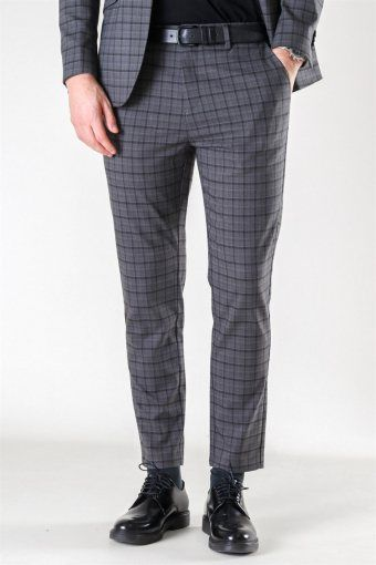 Milano Marcel Pants Grey Checked
