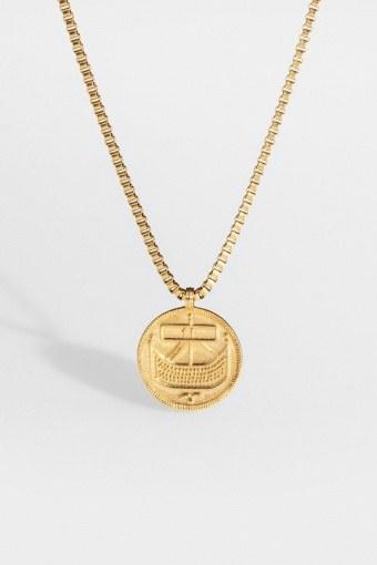 "Saxon-Penny Halsband ""Gold"""