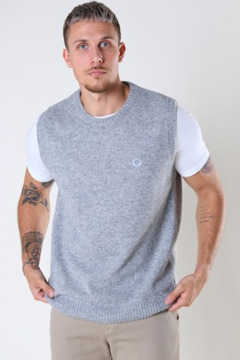 Karl Wool Vest Grey
