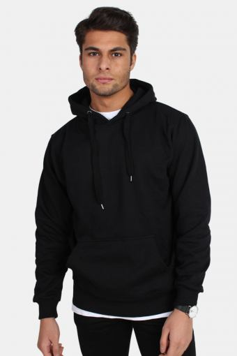 Hooded Tröja Black