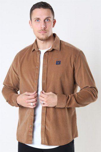 CordKlockaoy Shirt LS Khaki