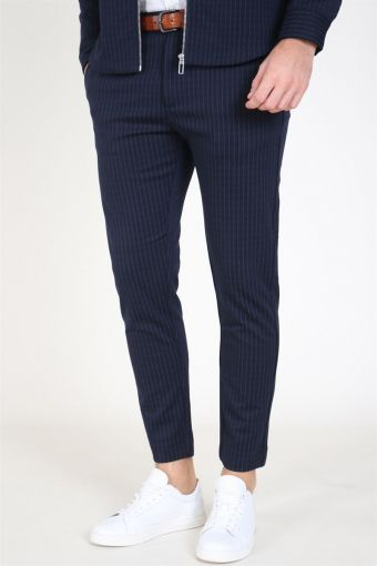 Milano Pinstripes Pants Navy