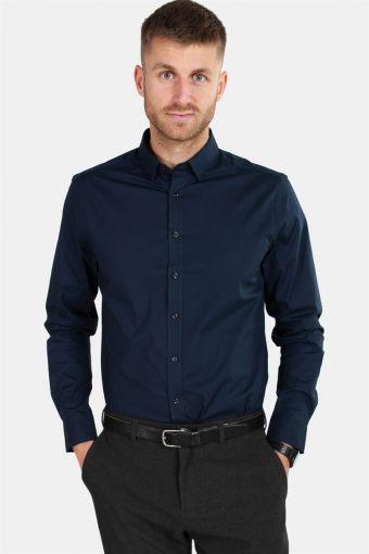 Tyler LS Skjorta Insignia Blue