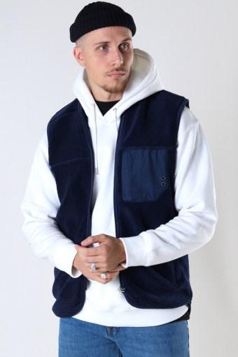 Kayson Teddy vest Navy