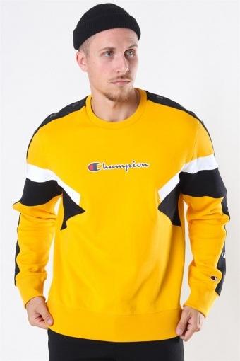 Sweatshirt Yellow/Black/White