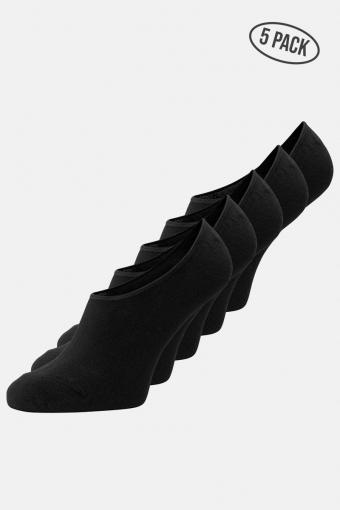 Basic Multi Invisible Strumpor 5-Pack Black