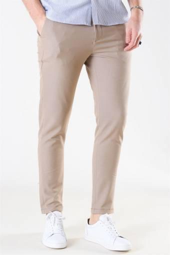 Como Light Suit Pants Light Brown Insence
