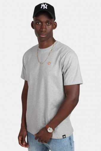 Stockdale Tee Men Grey Melange