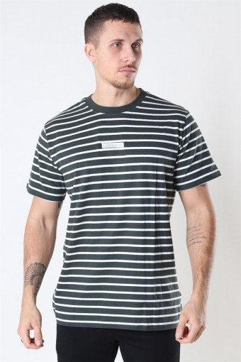 Menak Stripe T-shirt Army-Kit