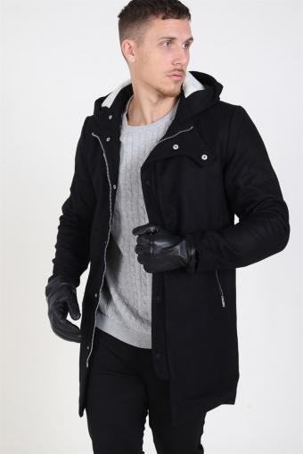 Tor Wool Jacka Black