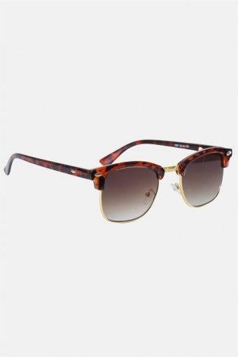 Fashion Clubmaster 1397 Solgasögon Brown Havana/Shiny Gold