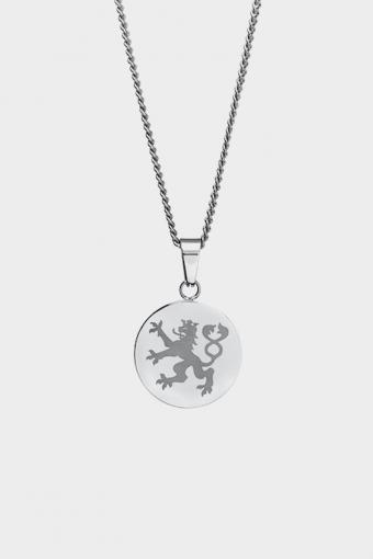 Lionheart Pendant Halsband Silver