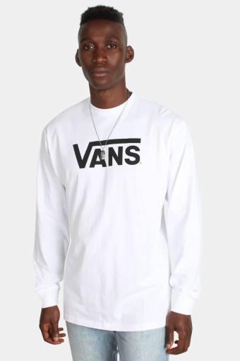 Classic LS T-shirt White/Black