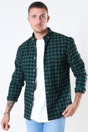 Johan Check Gr. 18 Skjorta Green