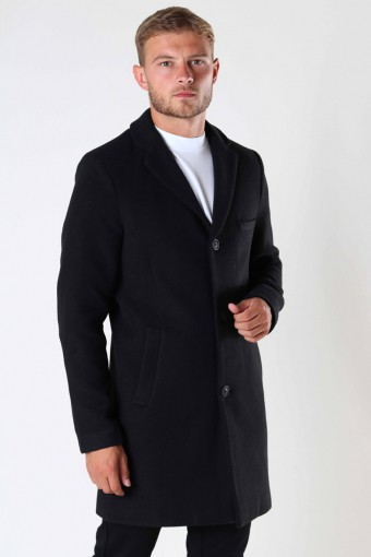 ONSJAYLON WOOL COAT OTW Black