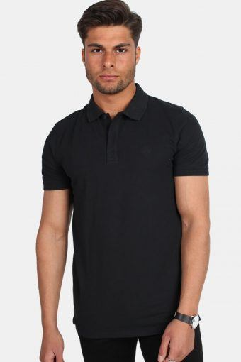 Haro SS Embroidery Polo Black