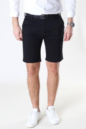 Milano Drake Stretch Shorts Black