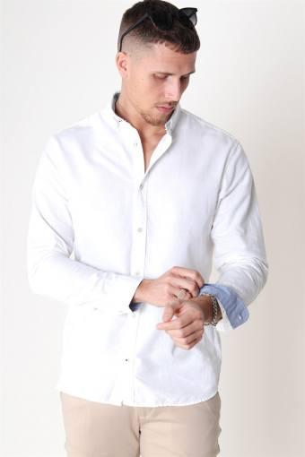 Summer Skjorta L/S White