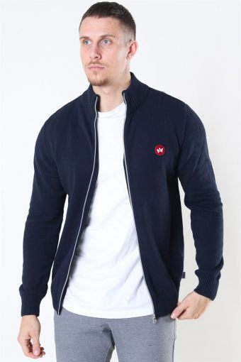Liam Zip Sticka Recycle Navy