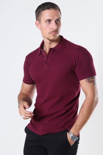Muscle Fit Polo BKlockagundy