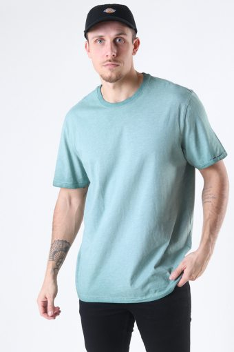 ONSMILLENIUM LIFE REG SS WASHED TEE NOOS Silver Blue