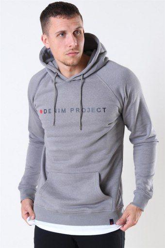Logo Hoodie Mid Grey