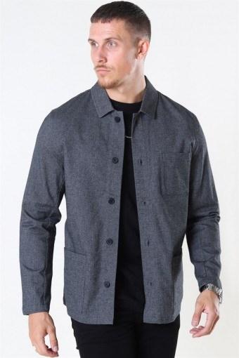 Lake StructKlockae Shirt LS Dark Grey