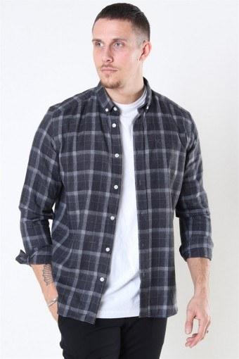 Sälen Flannel 3 Skjorta Antrasit