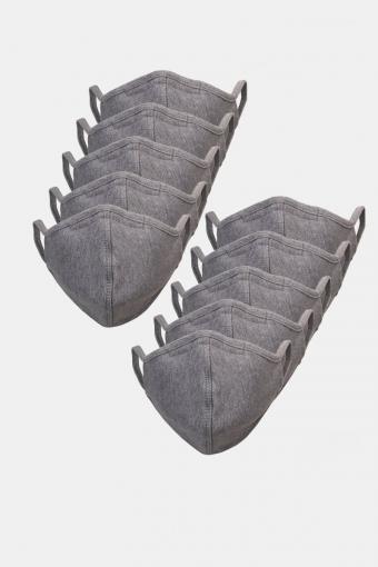 10-Pack Munstycke Oxford Grey
