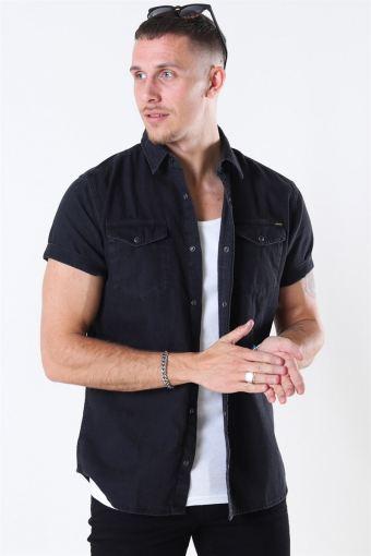 Sheridan Skjorta S/S Black Denim