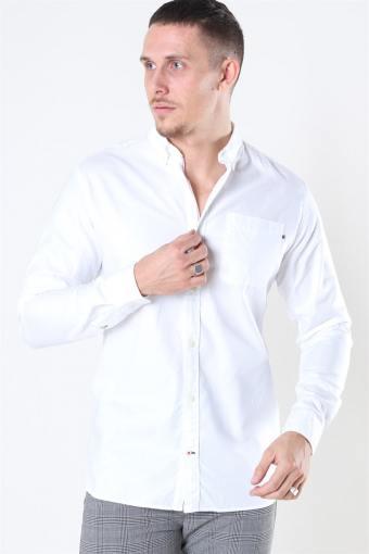 Classic Soft Oxford Skjorta LS White