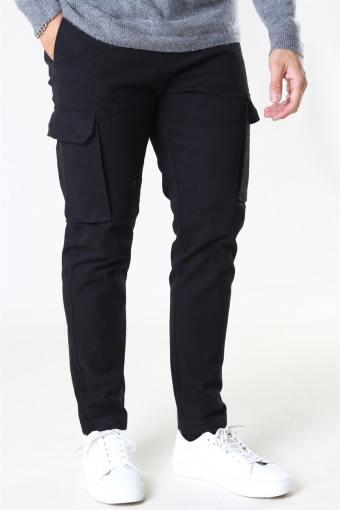Clean Cut Milano Cargo Pants Black