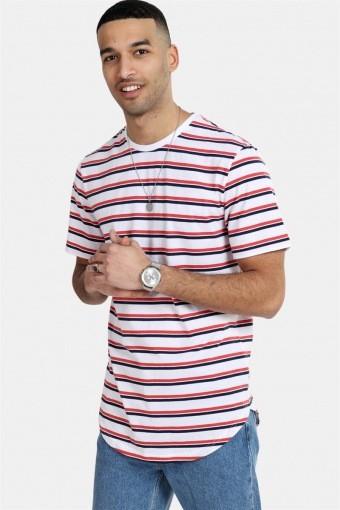Palatine SS Longy T-shirt White