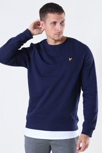 Crew Neck Sweatshirt Navy