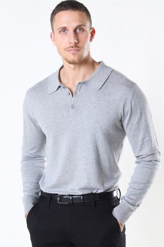 Acheletta Polo Sticka Light Grey Mix