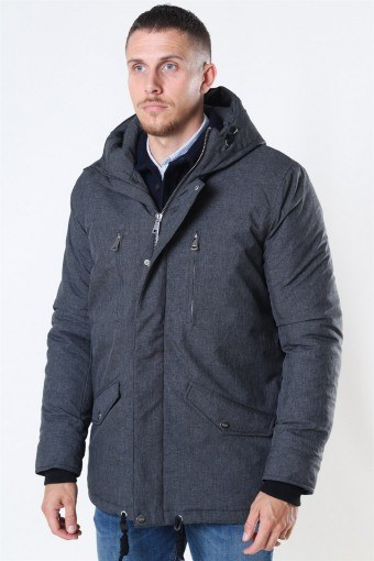Anders Parka Jacka Charcoal Mix