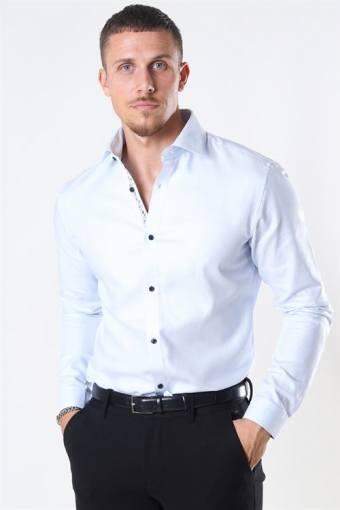 Viggo Dobby Skjorta White