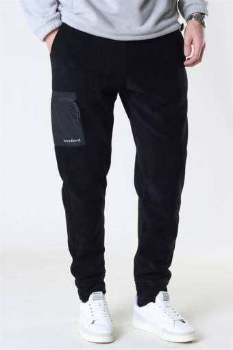 Zling Fleece Pants Black
