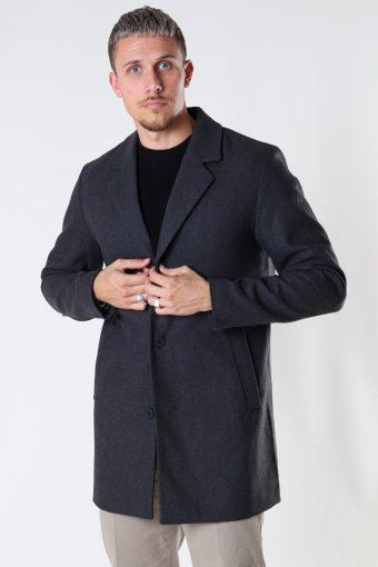 JJMARCO WOOL COAT Dark Grey Melange