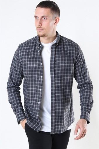Sälen Flannel 2 Skjorta Antrasit