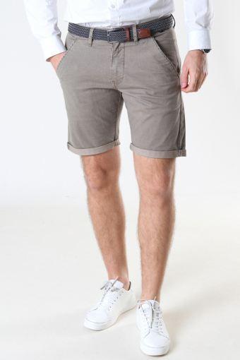 Louis Greige Shorts inkl. Bälte